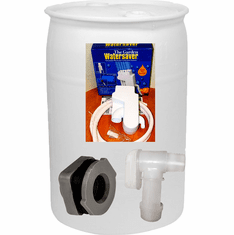 "Used 30 Gal Tight Head Rain Barrel Kit<strong><font color=""#FF0000""> Free Shipping</font></strong>"