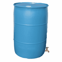 "Used/Reconditioned 55 Gal Water Drum with Faucet<font color=""red"" >Free Shipping</font>"