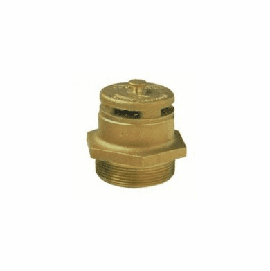 Vent, 2inch Vertical Dual-Action Drum Vent, All Brass