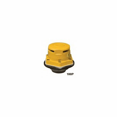 Vent, 2inch Vertical Dual-Action Drum Vent Polyethylene & Steel