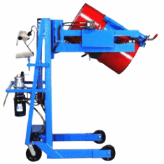 Vertical Lift Drum Pourer - Scale Equiped