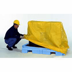 Weather cover, 4-drum For Movable Spill Pallet