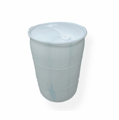 "White New Blem Color Plastic Water Barrel 55 Gallon,<BR><strong><font color=""#FF0000"">~SOLD OUT!~!</font></strong>"