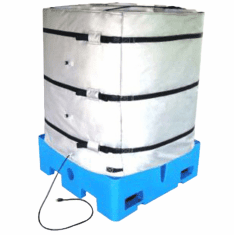Wrap-Around Plastic Tote Tank/IBC Heater 120v,1440w,48""