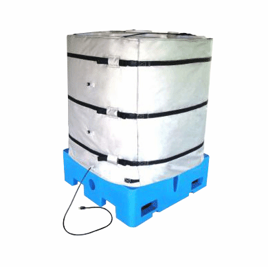 Wrap-Around Plastic Tote Tank/IBC Heater 240v,2880w,48""