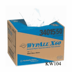 Wypall X60  Industrial Wipers 180 Count Case