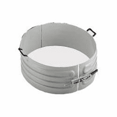 Zinc Metalized Heat or Cool 30 Gallon Drums, 1-Section