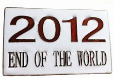 2012 END OF THE WORLD CATASTROPHIC MAYAN MAYA CALENDER PREDICTIONS BELT BUCKLE