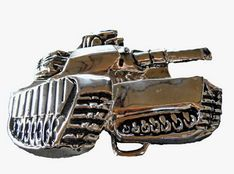 ARMY TANKER TANK MILITARY WAR MILITARY ARMOURED TANK BELT BUCKLE