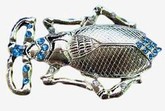 BEETLE BUG INSECT INSECTS RHINESTONE BUGS BELT BUCKLE BEETLE BELTS BUCKLES