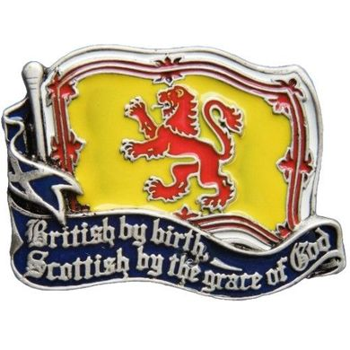 Scottish Flag Belt Buckle Scotland Red Lion British By Birth Scottish By The Grace Of God Belts Buckles