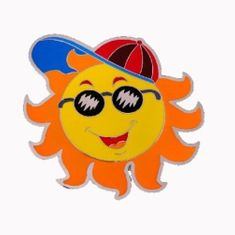 COLORFUL SUN HAT CAP SOUTH FUNNY HOT SUNNY BELT BUCKLE