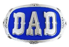 DAD DADDY FATHERS DAY PAPI BELT BUCKLE BELTS BUCKLES