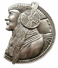 NORTH AMERICAN NATIVE INDIAN CHIEF WESTERN BELT BUCKLE