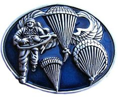 Parachute Army Special Delta Marines Air Force Airborne Soldiers Belt Buckles