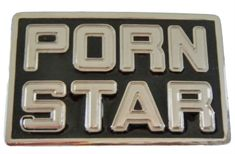 PORN STAR XXX SEXY ADULT MOVIES PICTURES BELT BUCKLE