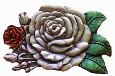 Red Rose Roses Flowers Mothers Gift Belt Buckle Buckles