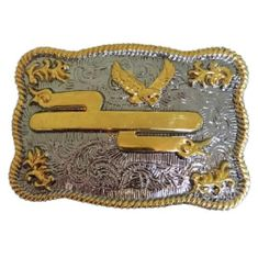 RODEO WESTERN TITLE NAMES EVENTS ENGRAVABLE BELT BUCKLE