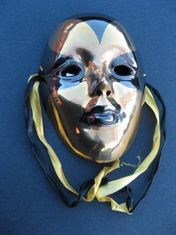SOLID BRASS MASK
