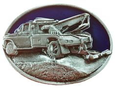 TOW TRUCK TOWING VEHICLE OPERATOR BELT BUCKLES