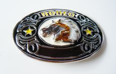 Western Wild Horse Southern Rodeo Cowboys Belt Buckles