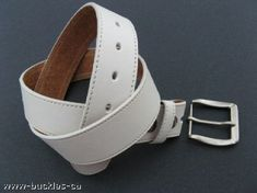 WHITE SEXY GOTHIC PUNK SUMMER BELT REMOVABLE BUCKLE