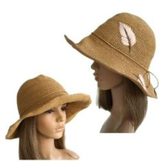 Women's Paper Beach Hat Sun Cover Protection Summer Straw Caps Fashion Hats
