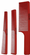 BaByliss Pro Set Of 3 Barber Combs