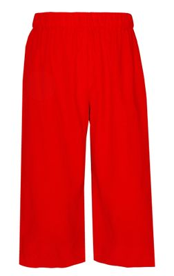 Anavini Boys Pull On Pants - Red Corduroy