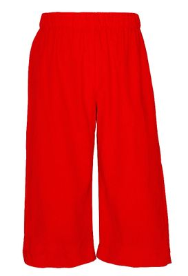 Anavini Toddler Boys Pull On Pants - Red Corduroy