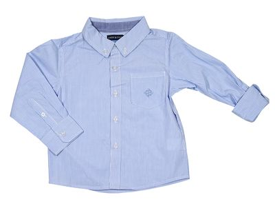 Andy & Evan Boys Classic Oxford Dress Shirt - Blue