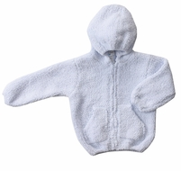 Angel Dear Baby Boys / Girls Chenille Hoodie Jacket - Blue