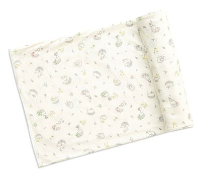 Angel Dear Baby Girls / Boys Ivory Hedgehog Explorer Swaddle Blanket