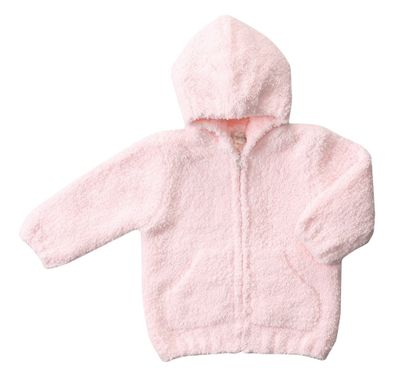 Angel Dear Baby Girls Chenille Hoodie Jacket - Pink