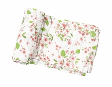 Angel Dear Baby Girls Pink Cherry Blossom Print Swaddle Blanket