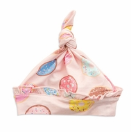 Angel Dear Baby Girls Pink Donuts Knotted Hat