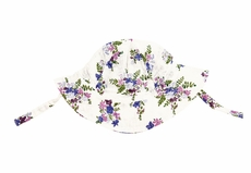 Angel Dear Baby Girls Sun Hat - Purple Lily of the Valley