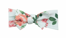 Angel Dear Girls Headband - Pink / Aqua Rose Garden