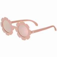 Babiators Sunglasses - The Flower Child - Polarized with Mirrored Lenses - Pink