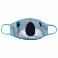 iscream Children's Reversible Face Mask - Koala Bear & Rainbows