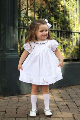 Christian Elizabeth & Co. Girls White Magnolia Dress