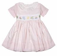 Christian Elizabeth & Co. Girls Pink What a Wonderful World Dress