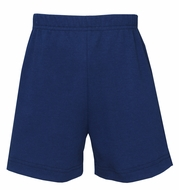 Claire & Charlie Boys Pull On Knit Shorts - Navy Blue