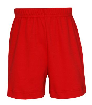 Claire & Charlie Boys Pull On Knit Shorts - Red