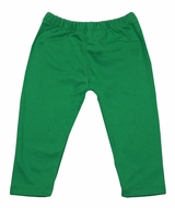 Claire & Charlie Girls Leggings - Kelly Green Solid