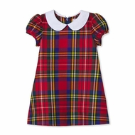 Classic Prep Girls Red Holiday Tartan Plaid Paige Dress