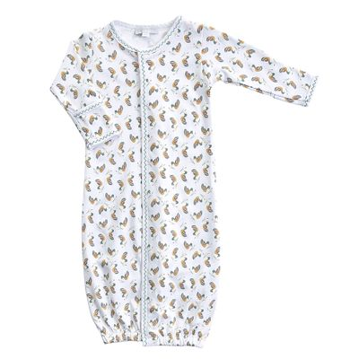 Magnolia Baby Boys / Girls Duck Pond Printed Converter Gown