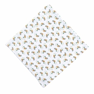 Magnolia Baby Boys / Girls Duck Pond Printed Swaddle Blanket