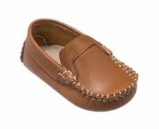 Elephantito Baby Boys Shoes - Moccasins - Natural