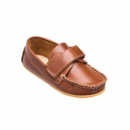 Elephantito Boys Shoes - Nick Boating Shoes - Brown